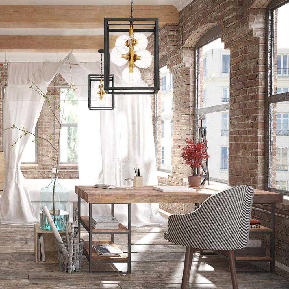 Компактный, эффективный для освещения потолочный светильник